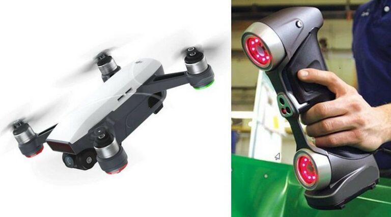 Drone e scanner multilaser del Gruppo Agiometrix