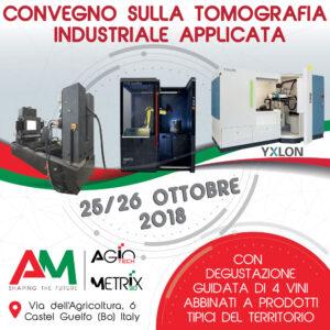 Convegno tomografia industriale applicata 2018