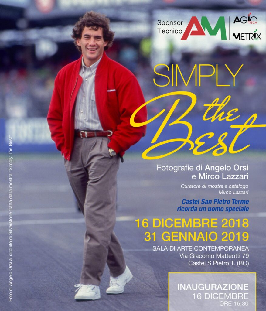 Mostra fotografica Ayrton Senna