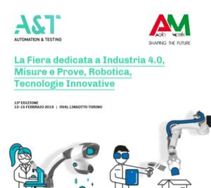 Agiometrix è presente all'Automation & Testing di Torino presso il Lingotto dal 13 al 15 febbraio
