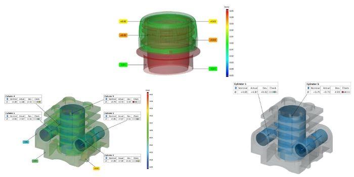 Metrologia attraverso il sistema tomografico industriale GOM CT 225kV