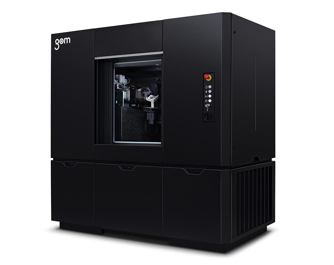 Gom CT: tomografia industriale di materiali compositi e complessi.