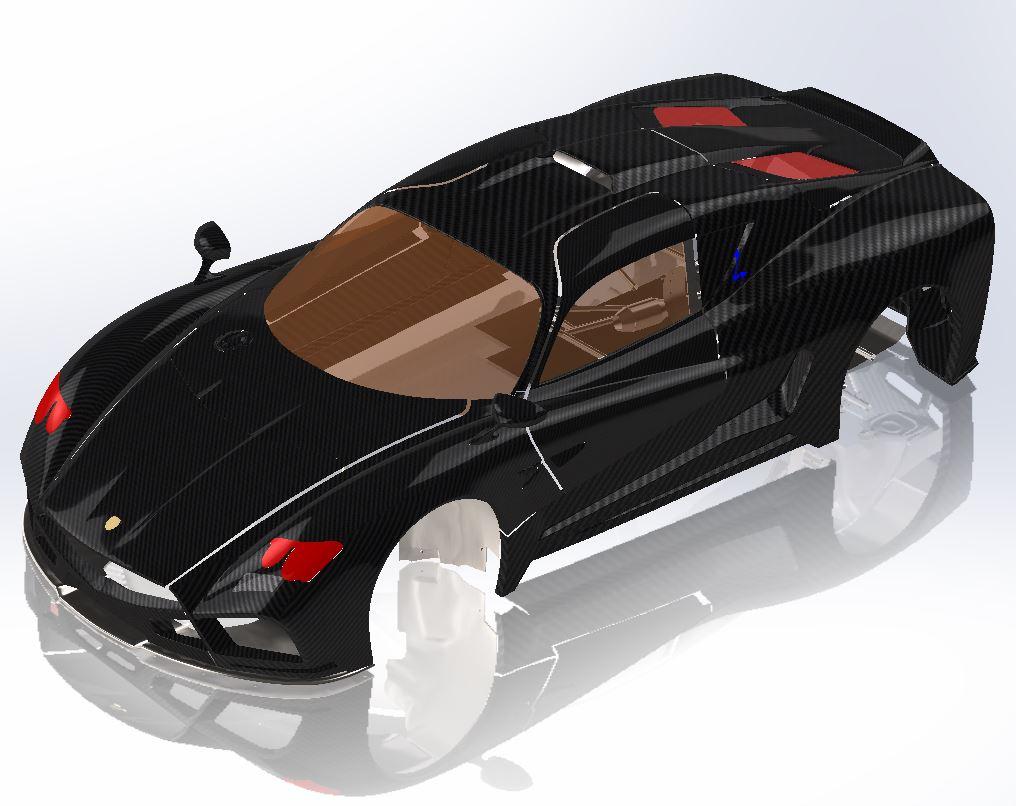 Scansione ottica reverse Auto GT Evantra - Agiometrix