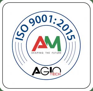 Agiotech - certificazione ISO 9001:2015