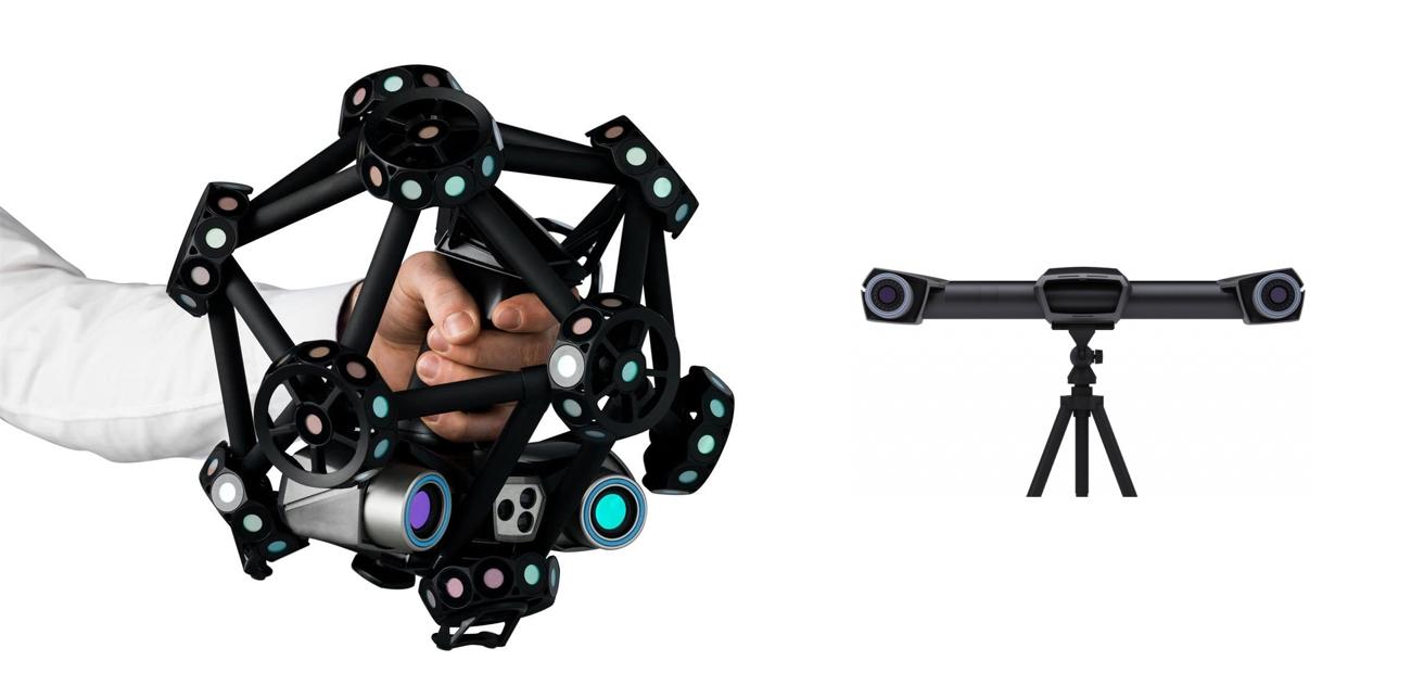 SCANNER MULTILASER 3D CON TRACKER